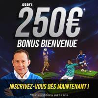 250€ de bonus genybet