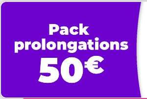 prolongations zebet 50 euros