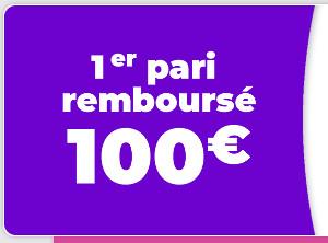 remboursement zebet 100 euros